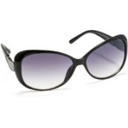 Stacle Over-sized Sunglasses(Grey)
