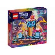 Lego Конструктор Lego Trolls Концерт в городе Рок-на-Вулкане 387 дет. 41254