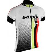copilăresc ciclism jersey Silvini ECHIPA copii CD842K alb