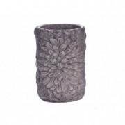 Váza kerámia 21x28cm barna