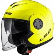 LS2 Casco Doppia Visiera Verso Hi-Vis Yellow