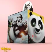 Cutii marturii botez Kung Fu Panda