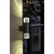 LED vanjska zidna svjetiljka 6 W hladno-bijela ECO-Light Durban ST581 plemeniti čelik