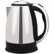 WDS ™MS -88 Hot Water Pot Portable Boiler Tea Coffee Warmer Heater Cordless Electric Kettle (1.82 L, Silver) Electric Kettle(1.82 L, Silver, Black)