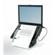 Notebook állvány, USB portokkal, FELLOWES Professional Series™ Laptop Workstation (IFW80246)