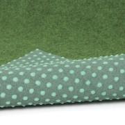 Zelený travní kusový koberec Basic - délka 200 cm, šířka 100 cm a výška 0,4 cm