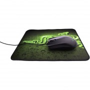 Paquete Mouse Razer Abyssus Y Mousepad Goliathus Control - Negro