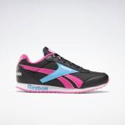 Reebok Royal Classic Jogger 2 Schoenen - Black / Proud Pink / California Blue - Size: 34.5,35,36,36.5,37,38,38.5