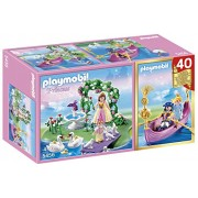 Playmobil Princess Island Gondol Anniversary Compact Set, Multi Color