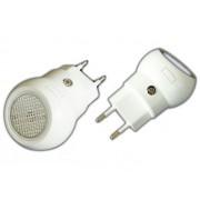 NTR NL01 Éjjeli irányfény fényérzékelővel 0,5W LED 230V