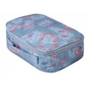 Shree Shyam Products Travel Makeup Bags Cosmetic Case Organizer Portable Storage Bag Cosmetics Make Up & Toiletry Bag Accessories Set Of 1 Pcs Travel Toiletry Kit(Grey)