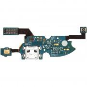 Cabo flex de conector de carregamento compatível com Samsung Galaxy S4 mini I9190/I9195