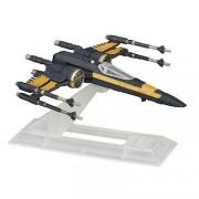 Star Wars - Titanium Series Die Cast Vehicle Set - Poe's X-Wing Fighter