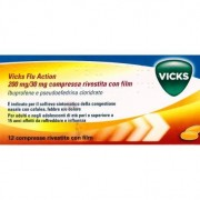 PROCTER & GAMBLE SRL Vicks Flu Action*12cpr200+30mg