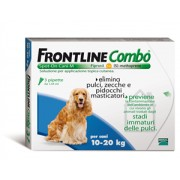 Frontline Combo Spot-on Cani 10 - 20 Kg 3 Pipette