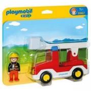 Комплект Плеймобил 6967 - Пожарникарски камион със стълба, Playmobil, 2900180