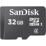 Cartão de Memória Sandisk Micro SD 32GB com Adaptador