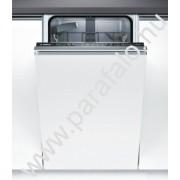 BOSCH SPV25CX02E Teljesen beépíthetõ mosogatógép