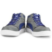 Puma Rebound Mid Lite DP Men High Ankle Sneakers For Men(Grey)