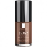 La Roche-Posay Silicium Color Care esmalte de uñas tono 38 Chocolat 6 ml