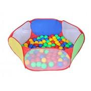 Magicwand® Large Size Hexagonal Wonder Ball Pool With 50 Free Balls