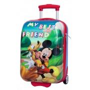 Troler Abs 48 cm Mickey si Pluto Friends