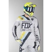 FOX Crossshirt Fox 360 Draftr Grau MX 18