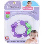 Baby Cute Colorful Lightweight and Durable Grapes Shaped BPA Free Soother Cum Rattle Toy For Infants. Sized for babies