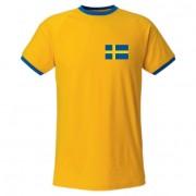 Sverige T-shirt Retro Barn