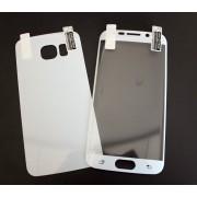 2в1 Удароустойчив протектор за Samsung G925 Galaxy S6 Edge Бял
