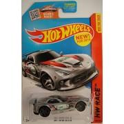 Hot Wheels, 2015 Hw Race, Srt Viper Gts R [Silver] Die Cast Vehicle #150/250