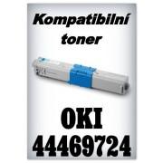 Kompatibilní toner OKI 44469724 - cyan