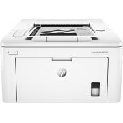 HP - LaserJet Pro M203dw Wireless Black-and-White Laser Printer - White