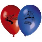 Baloane party Ultimate Spiderman 8 bucati - 28 cm