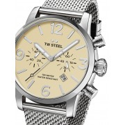 Ceas barbatesc TW-Steel MB3 Maverick Cronograf Quartz 45mm 10ATM