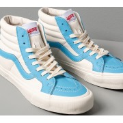 Vans Sk8-Hi Reissue Vl (Leather) Bonnie Blue/ Marshmallow