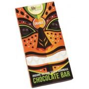 Ciocolata cu portocale raw bio