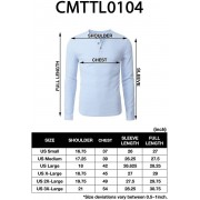 H2H Mens Casual Henley Long Sleeve Waffle Cotton T-Shirts Noir US 3XL/Asia 4... XXX-Large US /