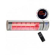 CasaFan Calefactor Halógeno Por Infrarrojo Casatherm 70030 W2000 Fb Gold Lowglare