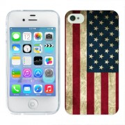 Husa iPhone 4S Silicon Gel Tpu Model USA Flag