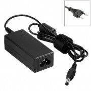 EU Plug AC Adapter 19V 4.74A 90W for LG Laptop Output Tips: (4.75+4.2) x 1.6mm(Black)