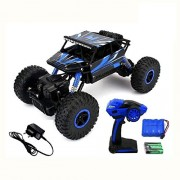 Srmaji Store Monster Truck 1:18 4WD Rally Car Rock Crawler Monster Truck For Kids Off Road Race Monster Truck With Remote ControllerToy For Children With Kinsmart Pull BAck Action Die-Cast Car Toy Racing Monster Truck For Toys Rechargeable Truck For Kids