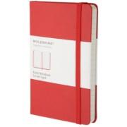 Moleskine - zápisník - linkovaný, červený S