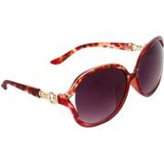 Zyaden Black Over-sized Sunglasses for Women 491