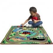 Детско килимче с дървени колички - 19400 - Melissa and Doug, 000772194006