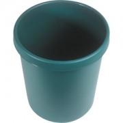 """helit innovative Büroprodukte GmbH """"helit """"""""the german"""""""" Papierkorb mit Rand, 30 Liter, Objekt-Papierkorb mit umlaufendem Griffrand, Farbe: grün"""""""