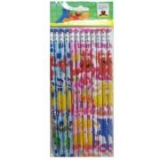 Sesame Street Stationery Elmo Pencils set (12 pcs pack)