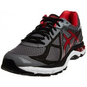 ASICS Men's Gt-2000 3 Carbon, Red Pepper and Black Mesh Running Shoes - 7 UK