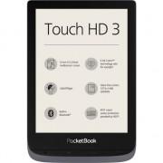 "EBook Reader PocketBook Touch HD 3, afisaj tactil 6"", E Ink Carta™ HD, 1072 × 1448, 16GB, LED frontlight, audio, WiFi, SMARTlight, Gri Metalizat"