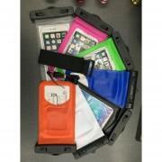 Universal Underwater Waterproof Bag S07 Para IPhone 6 6s 7 Más 5 SE S7 S6 S5 Sellado Caso Impermeable Bolsa De Teléfono Funda Para El Teléfono 4.5 - 5.8 Pulgadas (verde)